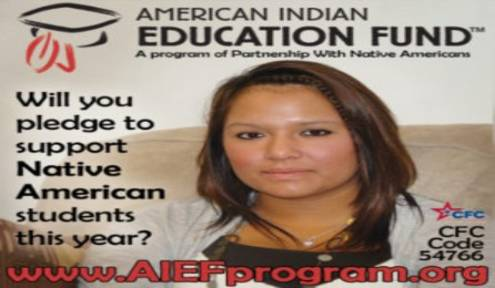 SUPPORTING NATIVE STUDENTS THROUGH THE 2019 COMBINED FEDERAL CAMPAIGN