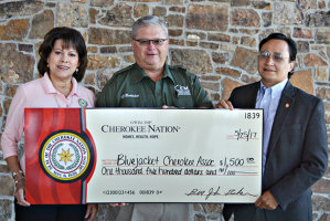Cherokee Nation donates to Craig County school, two other groups