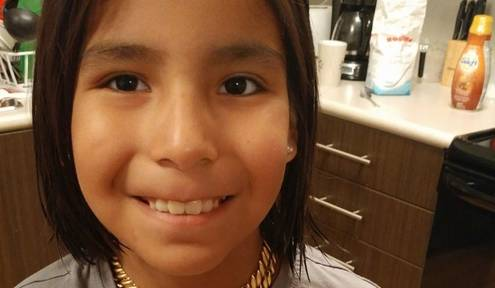 Indigenous Boy Cuts Hair After Bullying