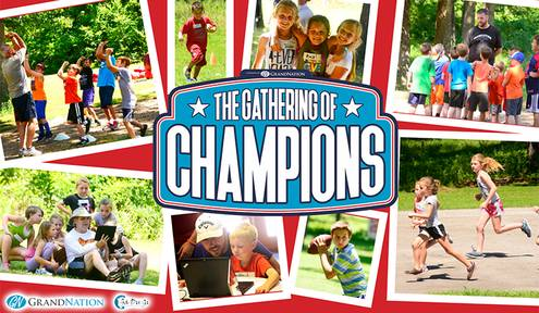 Preregistration Is Now Under Way for The Gathering of Champions Camp