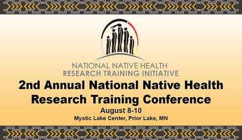 Registration Continues for National Native Health Research Training Conference