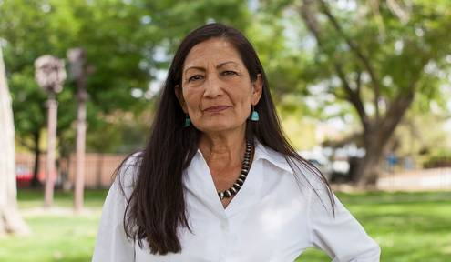 Native American woman seeks to make history