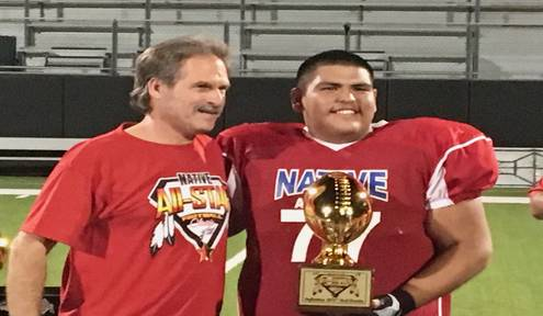 Native All Star Football athletes speak on culture, family and emotions