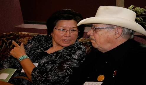 Widow keeps late Cherokee author's legacy living