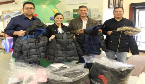 Tribal Council Donates 446 Winter Jackets for Akwesasne Youth