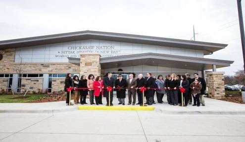 Chickasaw Nation Nittak Himitta Women's and Children's Recovery Center Dedicated