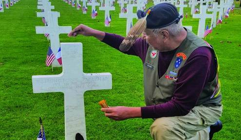 Veteran travels to France on a mission of honor
