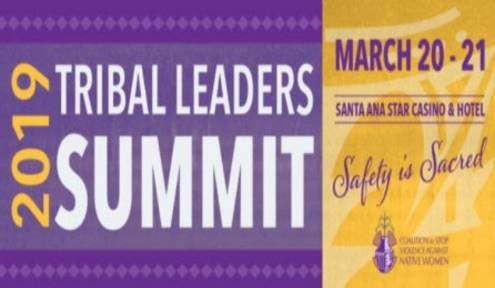 Coalition to Stop Violence Against Native Women Sets Tribal Leaders Summit Dates