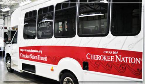 Cherokee Nation Receives $281,000 Grant to Add Five New Transit Vans