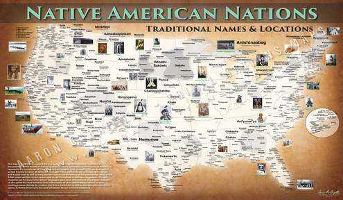 Indian Education video using Tribal Nations Maps