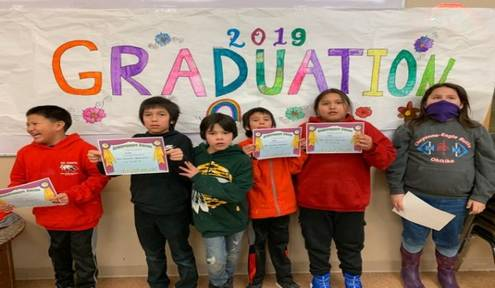 6 Children Graduate from the CRYP Award-Winning Main University