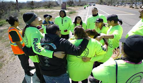Fort McDowell Yavapai Nation Commemorates Trail of Tears with A Three Day Relay