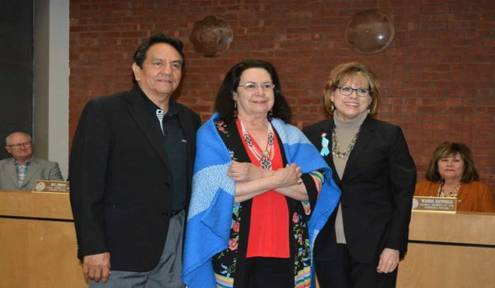 CN Tribal Council honors, acclaimed mezzo-soprano Barbara McAlister
