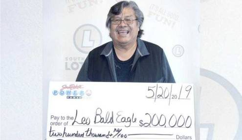 Native Man Wins $200,000 Powerball