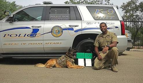 K-9 Unit Apprehends Heroin Traffickers and $559,000 in Heroin in New Mexico