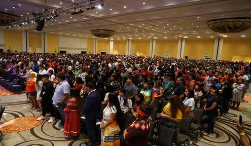 National UNITY Conference garners more than 2,300 Native youth