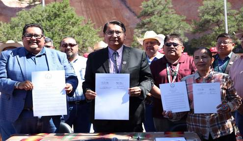 "Navajo Nation proclaims ""Navajo Nation Code Talkers Week"""