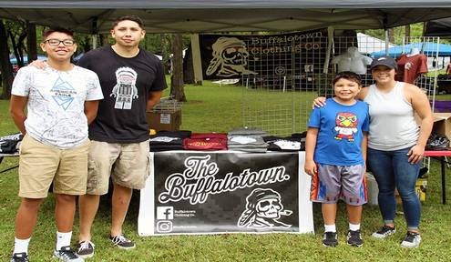 Buffalotown Clothing Co. mixes pop and Cherokee culture
