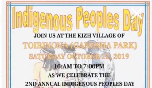 MMIW will be Focus on Indigenous Peoples Day in Pomona, Calif.