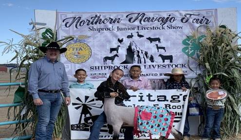 Navajo Gaming Spurs Enthusiasm with Navajo 4H Youth at the Shiprock Fair