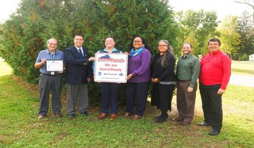 NHBP Named First StormReady Native American Tribe in Michigan