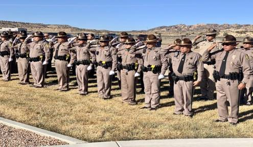 Navajo Nation Honors the Life of Navajo Police Sergeant Lamar Martin