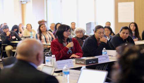 Navajo Nation First Lady Attending First New Mexico MMIW Task Force meeting