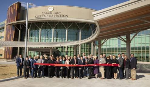 CN Celebrates Grand Opening of Largest Tribal Outpatient Health Center