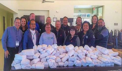 Navajo Gaming Delivers Navajo 4-H Livestock Harvest to Chapters, Senior Centers