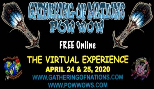 WITH THE GATHERING OF NATIONS CANCELLED, ORGANIZERS WILL FEATURE VIRTUAL POWWOW