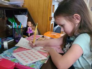 Ellie's Hope Factory encourages via letter writing