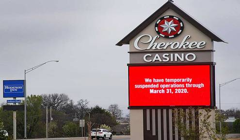 Cherokee Nation Businesses outlines commitment to safely reopen casinos