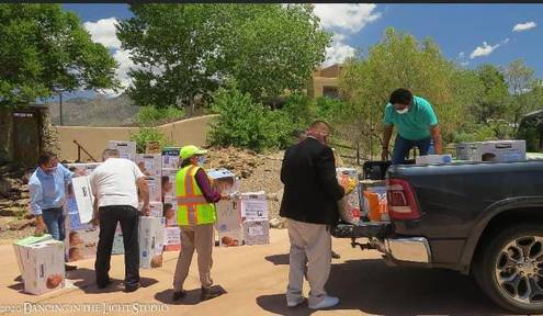 Richardson, McCabe Partnership for Navajo COVID-19 Relief